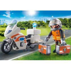 Playmobil Motocykl Ratowniczy ze Śwaitłem 70051